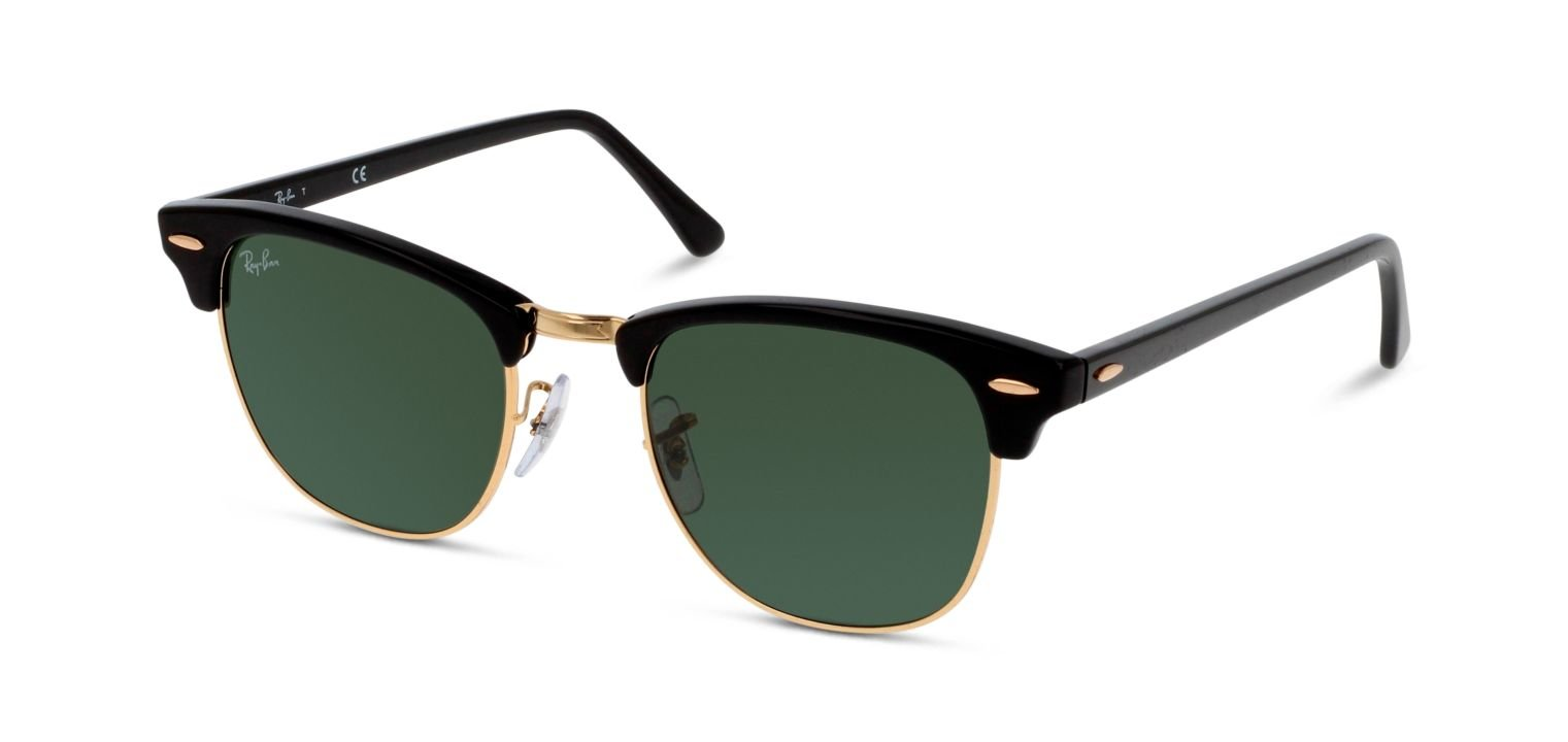 Ray-Ban CLUBMASTER RB3016 Schwarz