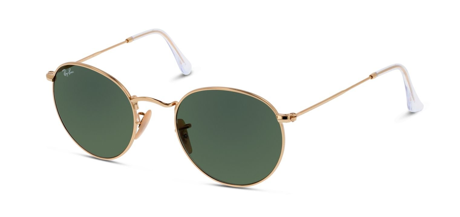 Ray-Ban ROUND METAL RB3447 Golden