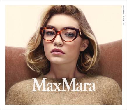 Max Mara Herbst/Winter Brillenkollektion